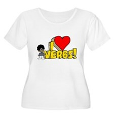 I Heart Verbs - Schoolhouse Rock! T-Shirt