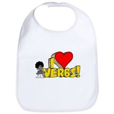 I Heart Verbs - Schoolhouse Rock! Bib