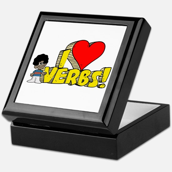 I Heart Verbs - Schoolhouse Rock! Keepsake Box