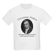 Thomas Paine 06 Kids T-Shirt