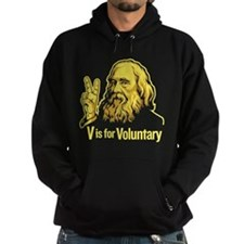 V is For Voluntary Hoodie