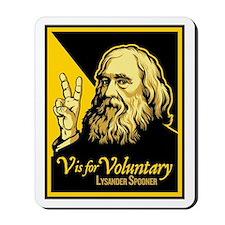 V is For Voluntary Mousepad