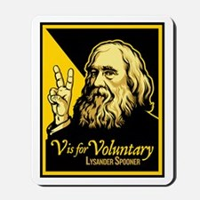 V is For Voluntary Mousepad