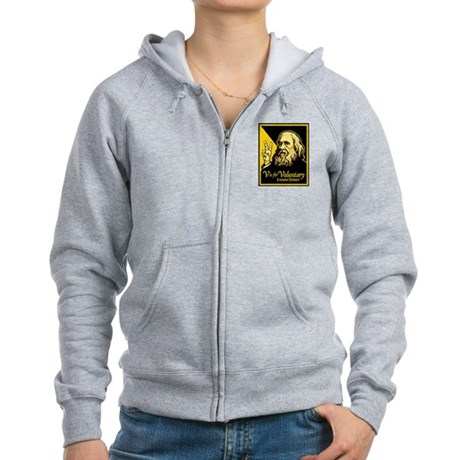 V is For Voluntary Women's Zip Hoodie
