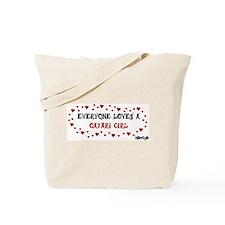 Everyone Loves a Qatari Girl Tote Bag