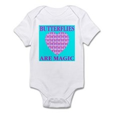 Butterflies Are Magic Heart Infant Creeper