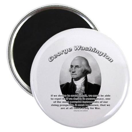 "George Washington 01 2.25"" Magnet (100 pack)"