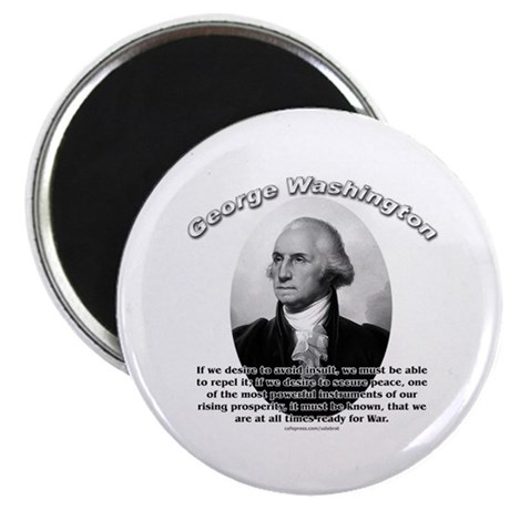 "George Washington 01 2.25"" Magnet (10 pack)"