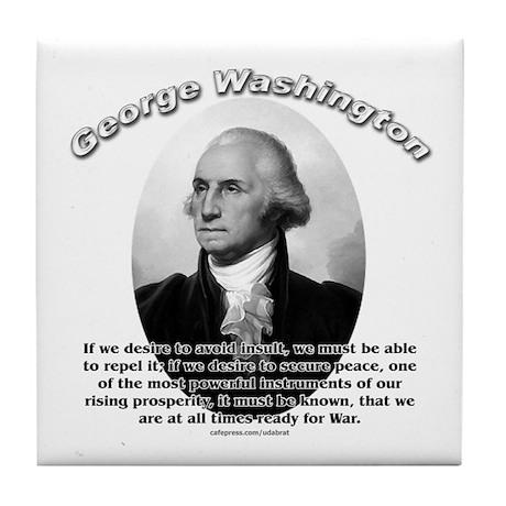 George Washington 01 Tile Coaster