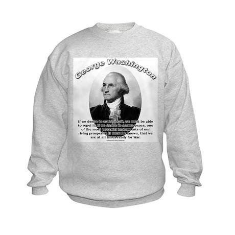 George Washington 01 Kids Sweatshirt