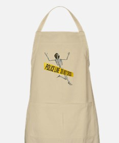 Crime Scene Skeleton Apron