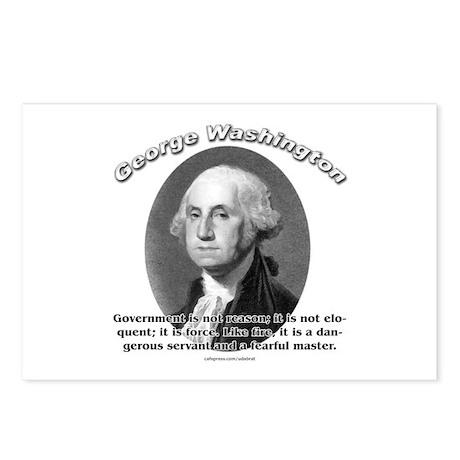 George Washington 02 Postcards (Package of 8)