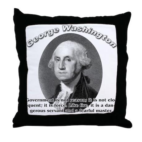 George Washington 02 Throw Pillow