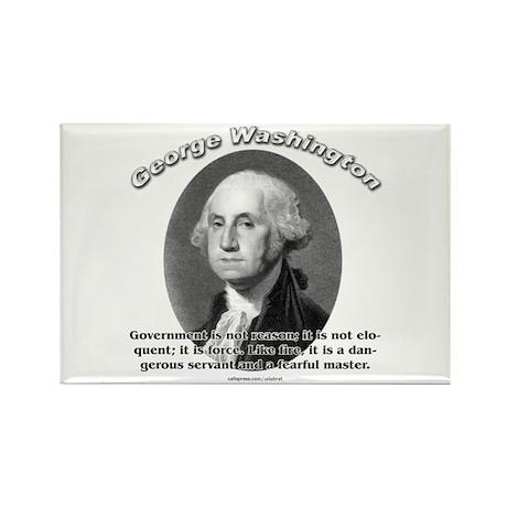 George Washington 02 Rectangle Magnet