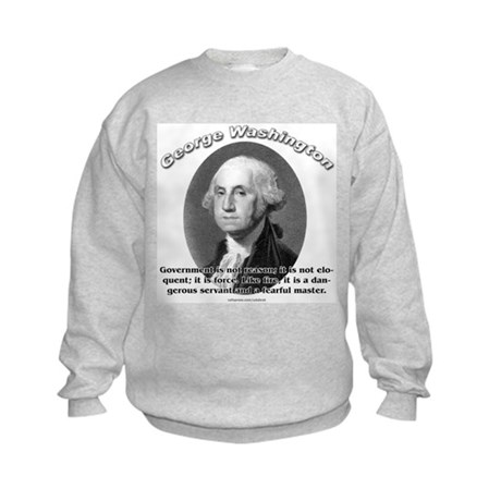 George Washington 02 Kids Sweatshirt