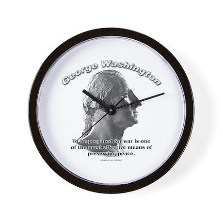 George Washington 03 Wall Clock