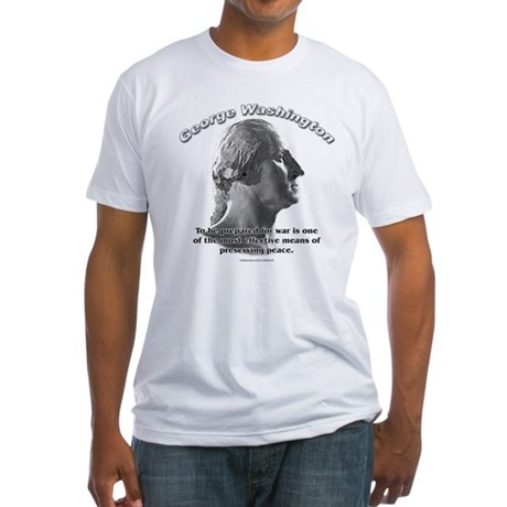 George Washington 03 Fitted T-Shirt