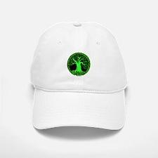 Green Wisdom Tree Baseball Baseball Cap