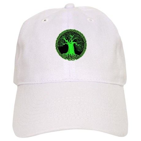 Green Wisdom Tree Cap