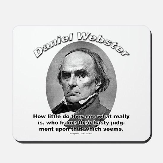 Daniel Webster 02 Mousepad
