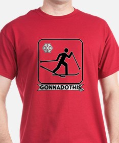GONNADOTHIS.COM-Cross Country T-Shirt