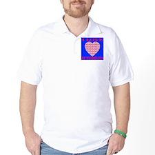 I Love Butterflies Heart Ocea T-Shirt