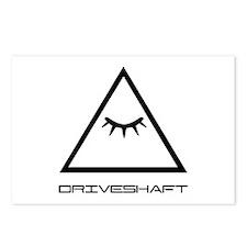 Drive Shaft Band Pyramid Logo Postcards (Package o