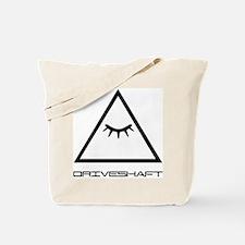 Drive Shaft Band Pyramid Logo Tote Bag