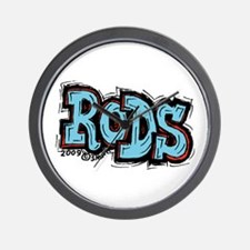 Rods Wall Clock
