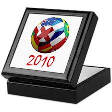 2010 Soccer Ball Keepsake Box