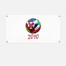 2010 Soccer Ball Banner