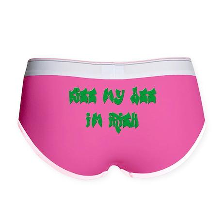 Kiss my Ass I'm Irish Women's Boy Brief
