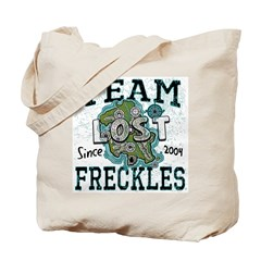 Team Freckles Tote Bag
