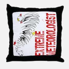 Extreme Meteorologist Throw Pillow