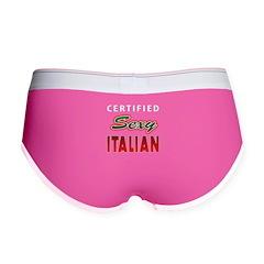 Sexy Italian Women's Boy Brief