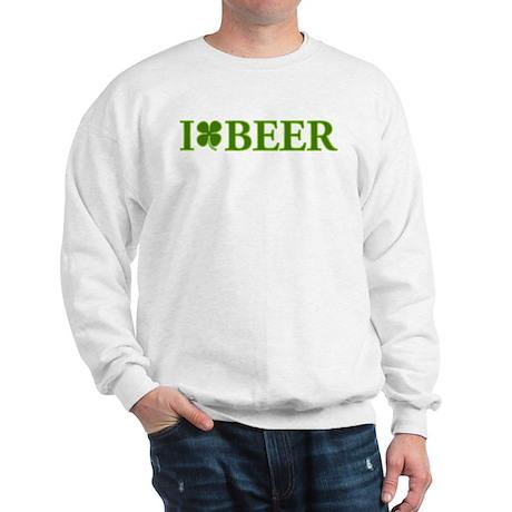 I Clover Beer Sweatshirt