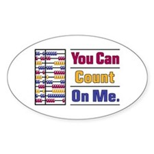 Count on Me Decal
