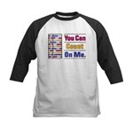 Count on Me Kids Baseball Jersey