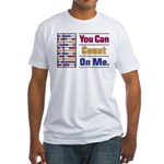 Count on Me Fitted T-Shirt