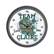 Team Claire Wall Clock