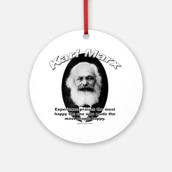 Karl Marx 01 Ornament (Round)