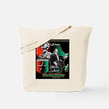 Funny Black star Tote Bag