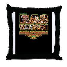 Funny Haile selassie Throw Pillow