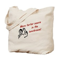 Tartar Sauce Simpsons Tote Bag