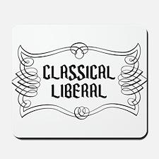 Classical Liberal Mousepad