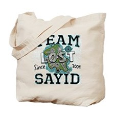 Team Sayid Tote Bag