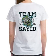 Team Sayid 2 sided Tee