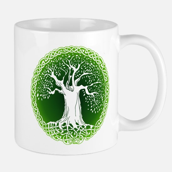 Green2 Celtic Tree Mug
