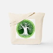 Green2 Celtic Tree Tote Bag
