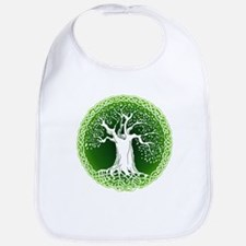 Green2 Celtic Tree Bib